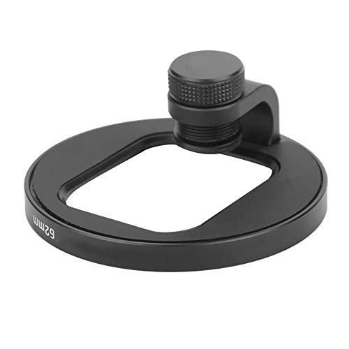 Ulanzi U-Filter Aluminium Alloy Lens Photograph Filter Adapter Bracket Filter Housing Ring for Mobile Phone/Tablet PC(62mm filter holder)