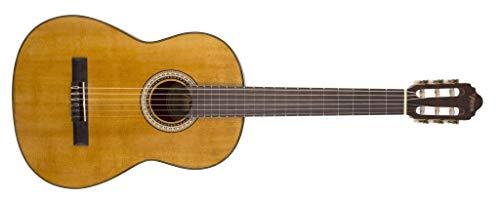 Valencia 400 Series - Guitarra clásica (tamaño completo), diseño vintage, color natural
