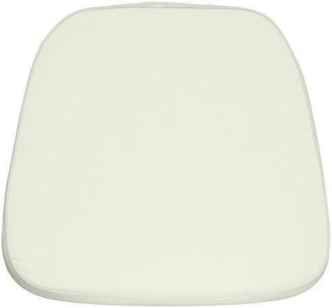 Flash Furniture Sacramento Mall 20 Pack Soft Sales Ivory Fabric Chair Chiavari Cushion