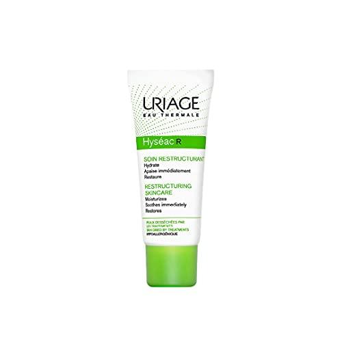 Uriage Hyseac Hydra - Crema Emoliente y reestructurante para pieles deshidratadas y grasas agradables con imperfecciones, 40 ml