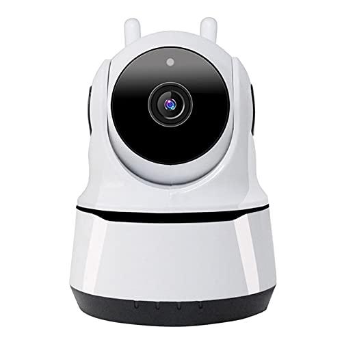 PDFF Monitor de Video para Bebés 1920 * 1080P, Cámara WiFi Interior Cámara HD de Vigilancia de Seguridad para el Hogar Inteligente, Audio Bidireccional, Detección de Movimiento Monitor