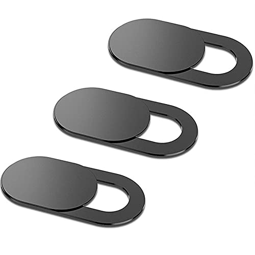 Lapster Laptop Camera Cover Webcam Cover Slide, Ultra Thin Slide Blocker for All Laptop PC Tablet (Pack of 3)