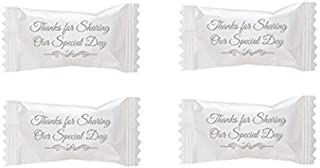 Party Sweets By Hospitality Mints Wedding Buttermints, 7-Ounce Bags (Pack of 6)