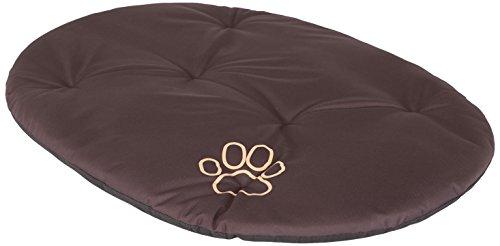 Hobbydog R6PODCBR2 Hundebett Hundesofa Hundekorb Tierbett Kissen, Größe 75 x 58 cm, Dunkelbraun