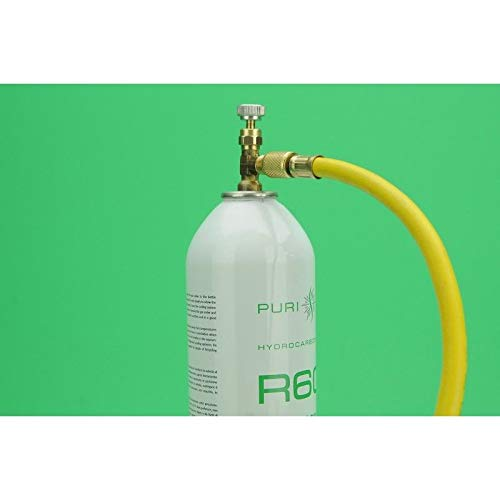 fancyU Medidor De Gas Fr/ío Conjunto De Medidores R22 R134A R410 R600 Kit De Herramientas para Agregar Aire Acondicionado Dom/éstico Refrigerante Aire Acondicionado para Autom/óvil