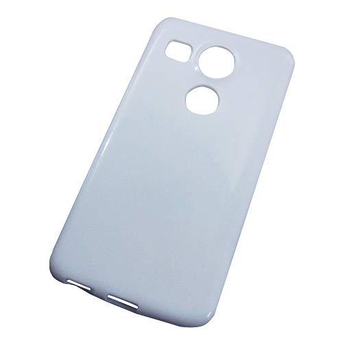 Nexus 5X ネクサス ホワイト 白 TPU ソフトケース カラー 無地ケース カスタム カバー ジャケット スマホケース