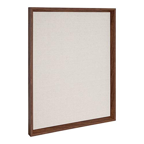Kate and Laurel Calter Framed Linen Fabric Pinboard, 21.5