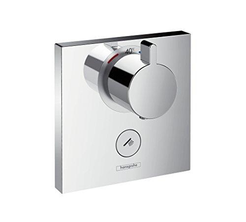 hansgrohe ShowerSelect Unterputz Highflow-Thermostat, für 1 Funktion + zusätzlicher Abgang, Chrom
