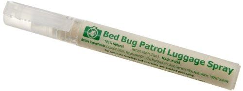 Lewis N. Clark Bed Bug Patrol Luggage Spray, White, One Size