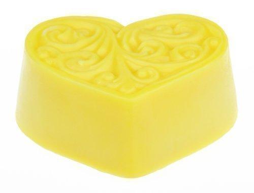 Echte 4,5 Sterne, Greendoor Bodycremeherz Aprikose Mango, Body Butter 80g, natürliche Massagebutter, Hautpflege mit BIO Sheabutter, BIO Kakaobutter, Naturkosmetik, Geburtstags-Geschenk