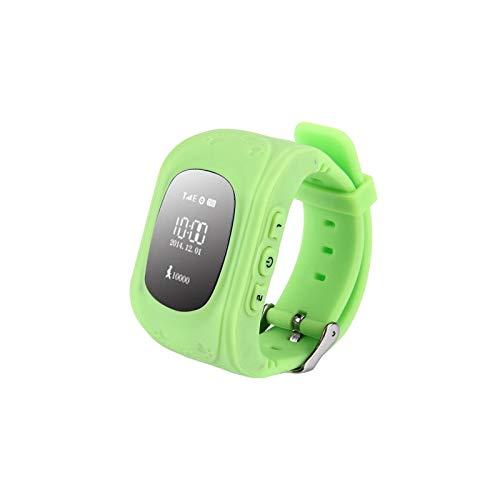 Q50 GPS-Tracker Smartwatch für Kinder, SIM-Karte kompatibel/Anti-Verlust/SOS Anruf/Lokalisierung Finder/Monitor
