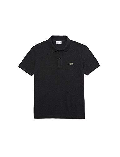 Lacoste Herren PH4012 Hemd mit Kragen, Rippstrick, Foudre China, M