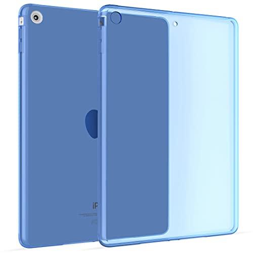Okuli Transparante Slanke Siliconen Beschermhoes Voor Apple iPad Mini 1, Mini 2, Mini 3 in Blauw