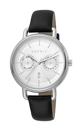 Esprit Multifunktionsuhr mit Lederarmband