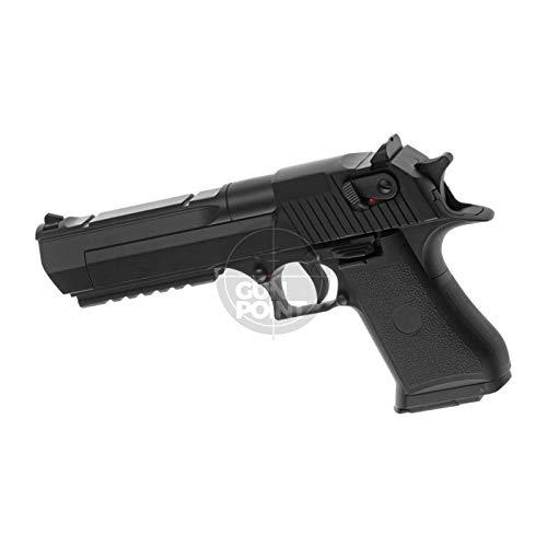 Cyma Softair - Pistole - .50 AE AEP Black - ab 14 Jahre Unter 0,5 Joule