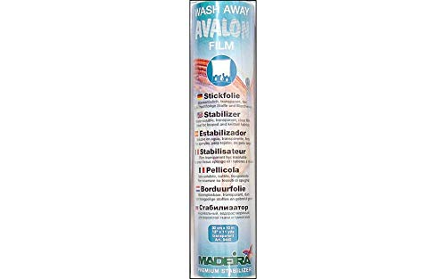 Avalon Film Stickfolie wasserlöslich 30 cm transparent 10 m