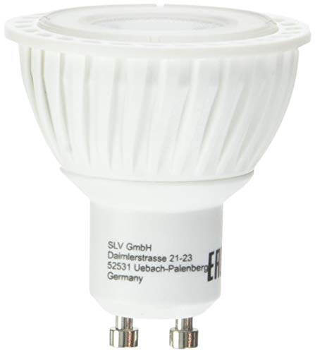 SLV Bombilla LED Master LED GU10 / bombilla, lámpara, LED/GU10, 3,7 W, 285 lm, gris regulable