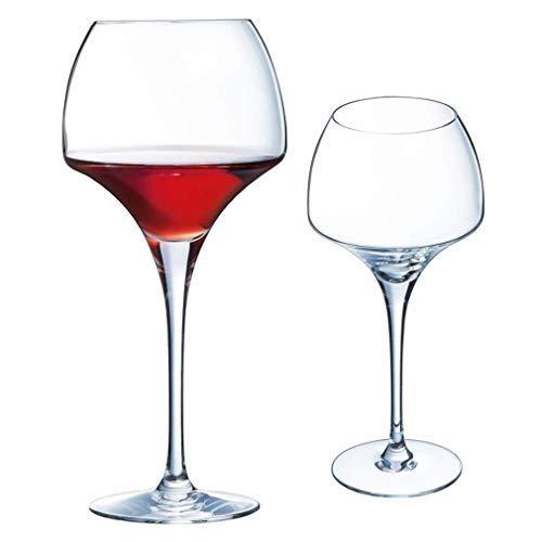 Copas de vino Vino Vaso de cristal 17oz copas de vino, Alto...