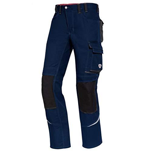 BP 1493-720-10-64 Arbeitshosen, Jeans-Stil mit mehreren Taschen, 305,00 g/m² Verstärkte Baumwolle, dunkelblau ,64