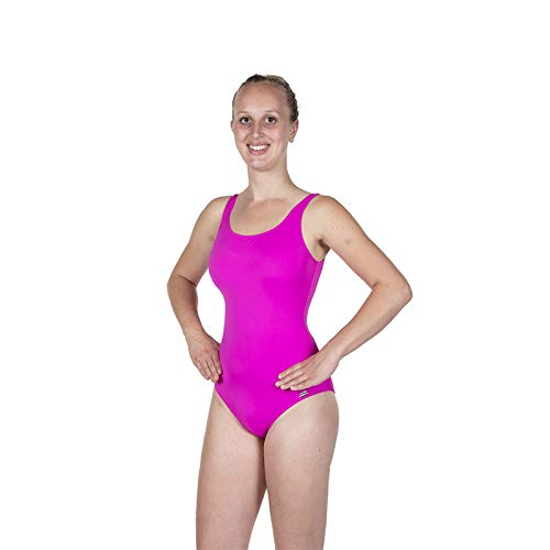 Fashy Damen Badeanzug Einteiler, pink, 38B
