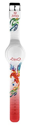 Orologio ZITTO piccolo a led con cinturino in silicone Limited Edition PHOENIX P