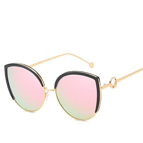 Jihufwejf Sportsonnenbrille Frau männliche Art und Weise polarisierte Sonnenbrille allgemeine Sonnenbrille Persönlichkeit (Size : Barbie Pink)