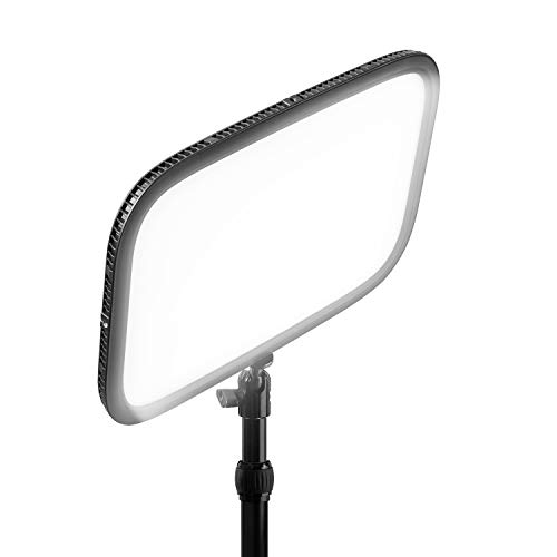 Elgato Key Light/ Professional Studio LED Panel with 2800 Lumens, Color Adjustable, App-Enabled, for PC and Mac, Metal Desk Mount