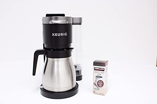 Keurig K-Duo Plus Coffee Maker, with Single Serve K-Cup Pod and 12...