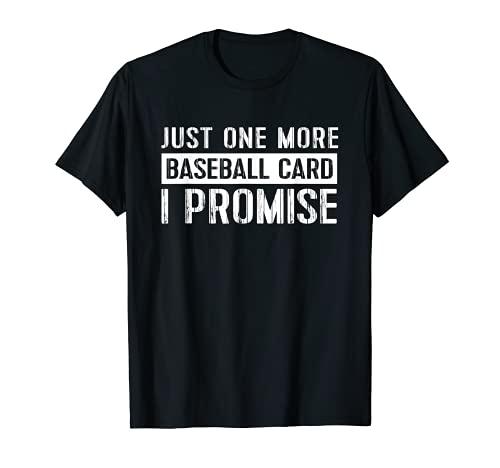 Baseball Card Collector Apparel Vintage Trading Card Gift T-Shirt