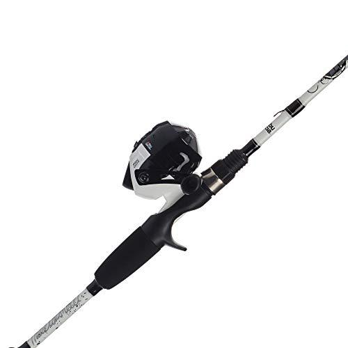 "Abu Garcia Mike Iaconelli Pro-Designed Youth Reel and Fishing Rod Combos, White, 5'6"" - Medium - 2pc"