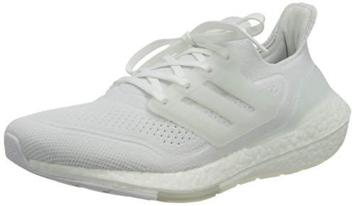 adidas Herren Ultraboost 21 Laufschuhe, Cloud White Cloud White Grey, 44 2/3 EU