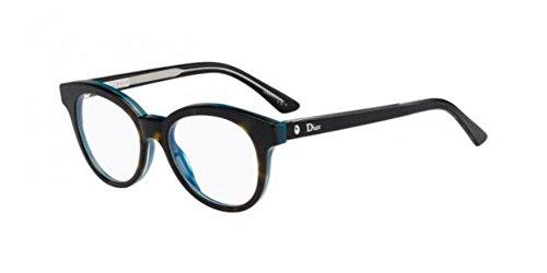 Dior Brillen Für Frau MONTAIGNE5 G8J, Tortoise / Octane Kunststoffgestell, 49mm