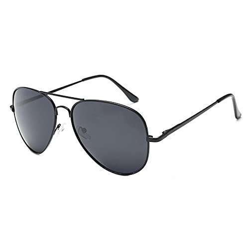 BANLV Gafas de Sol para Hombres y Mujeres del Mismo Estilo Gafas de Sol de Metal