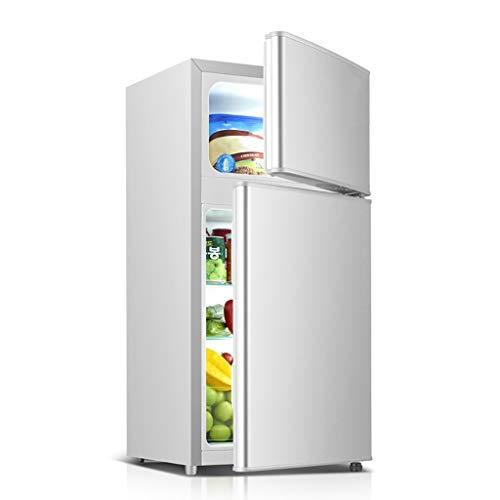 JF 35L doble puerta mini refrigerador refrigerado congelador pequeño dormitorio oficina ahorro de energía silencioso refrigerador
