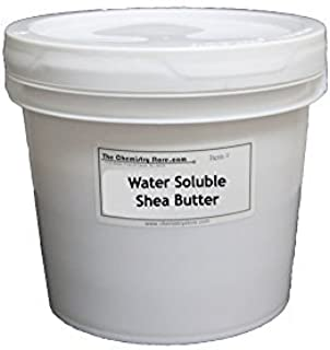 is shea butter water soluble