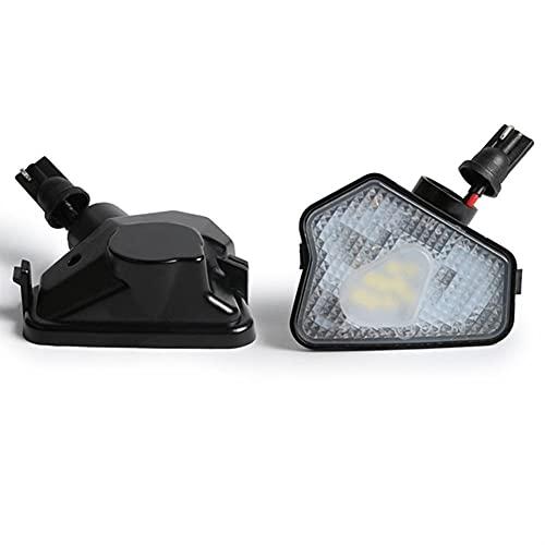 LXH-SH Ampadina para Coches 2pcs Xenon Lamp Blanco LED Espejo Trasero Montaje DE LUZ para Mercedes Benz W204 W212 W176 W246 C219 W221 Aces Luces LED para Coches
