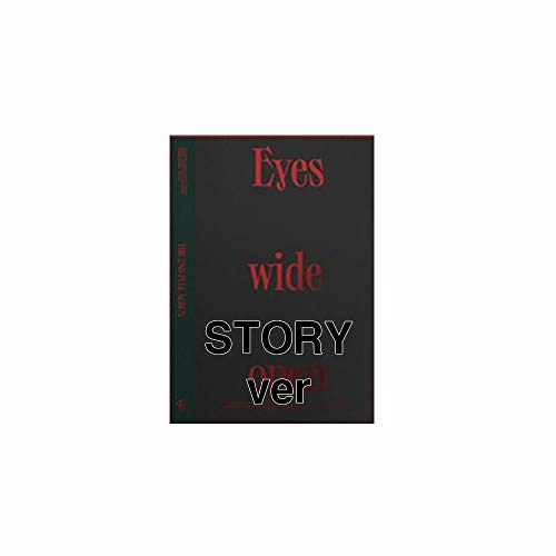 Twice Eyes Wide Open 2nd Album Story version (Incl. Pre-order Benefits : Most Card, Photocard Set, Folded Poster, Seller Gift : Random Twice Transparent Photocard Set)