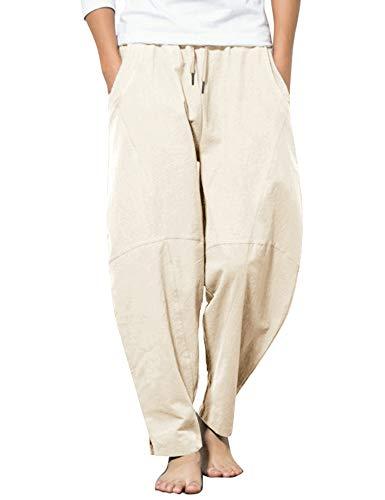 COOFANDY Men Cotton Yoga Pants...