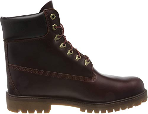 Timberland Herren Heritage 6 Inch Premium Waterproof Stiefel, Braun (Medium Brown Full Grain), 47.5 EU