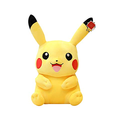CROWNXZQ Pikachu Soft Plush Toys, Pokemon Pikachu Plush, Material de Felpa Ultra Suave, Jugar, abrazar y Dormir - Gotta Catch