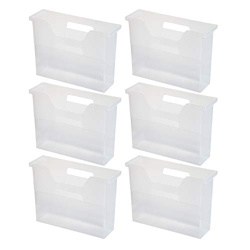 IRIS USA, Inc. OTFB-S Desktop File Box, Small, Clear