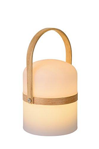 Lucide JOE - Tischlampe Außen - Ø 14,5 cm - LED Dim. - 1x3W 2800K - IP44 - Weiß