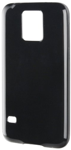 Muvit MUSKI0300 - Funda minigel para Samsung Galaxy S5/S5 Neo, color negro