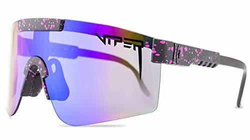 Gafas De Sol De Ciclismo Deportivo Polarizado, Protección contra El Aire Libre De Protección UV para Correr La Conducción De Béisbol De Pesca De Golf A