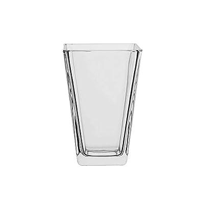 AmazonCommercial Glass Vase, 32.4 oz., Set of 2