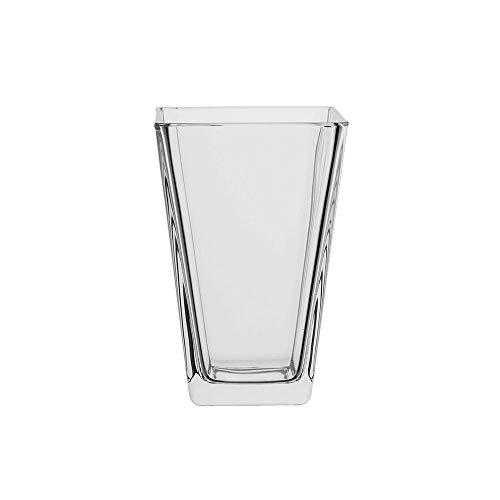 AmazonCommercial - Vaso in vetro, 958 ml, set da 2