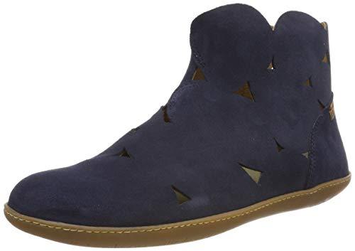 El Naturalista Unisex-Erwachsene N5282 Lux Suede EL Viajero Klassische Stiefel, Blau (Ocean Ocean), 39 EU