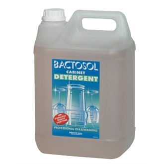 Bactosol cd519 glazen vitrine wasmiddel, 5 l (2 stuks)