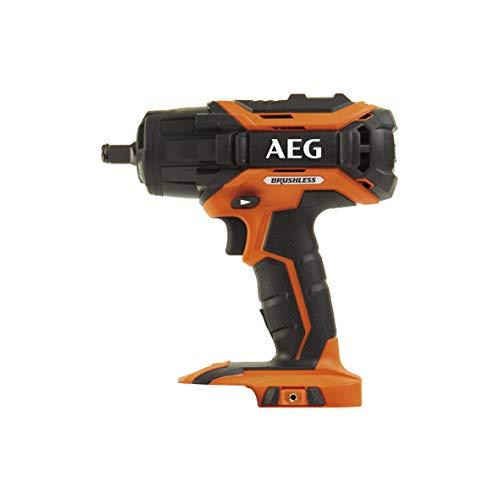 AEG BSS18C12ZBL-0 Akku-Schlagschrauber, kompakte Bauweise (Länge 196 mm), LED-Beleuchtung, ohne Akku-BSS18C12ZBL-0, 18 V