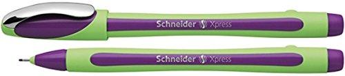 Schneider Schreibgeräte Fineliner Xpress, 0,8 mm, violett